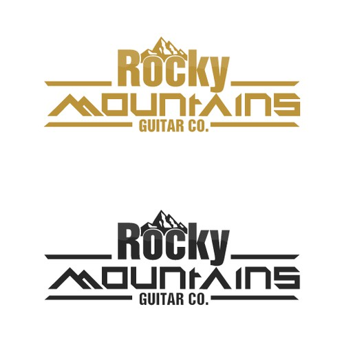 Small acoustic guitar company in Rocky Mountains needs identity.