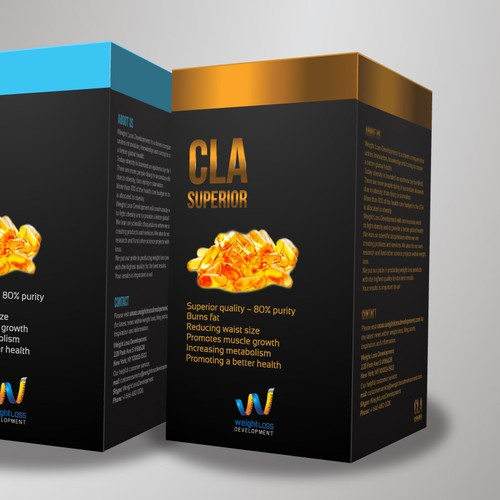 Create the label of a AMAZING product line - WINNER GUARANTEED