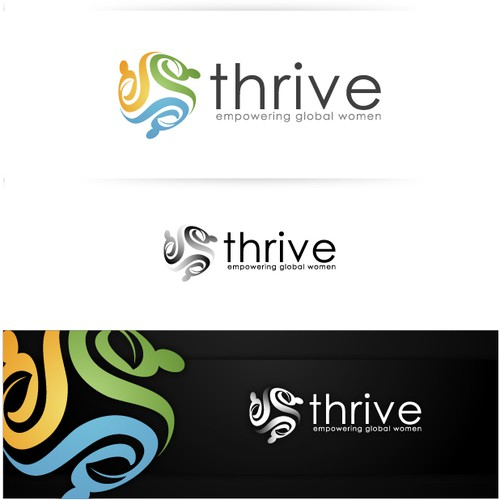 Create a logo for our new name - Thrive