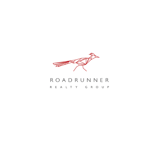 Roadrunner logo design icon available for sell