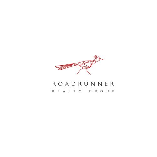 Roadrunner logo design icon available for sell