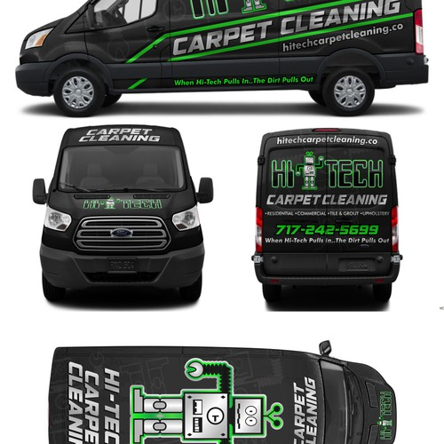 Hi-TECH carpet cleaning