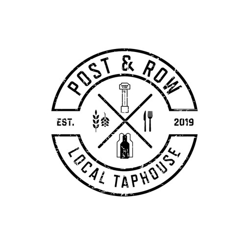 Taphouse and eatery logo