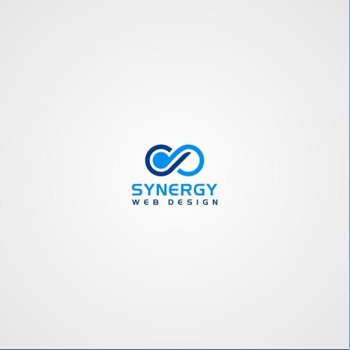 Design a modern logo for Synergy Web Design