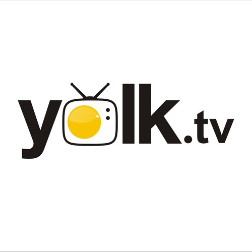 Create the next logo for yolk.tv