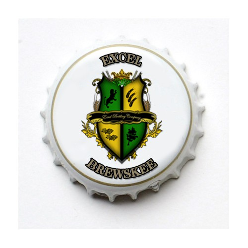 Create an awesome beer label (& logo) for Excel Brewskee and Excel Brewskee Citra