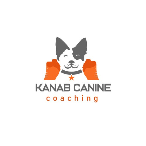 bold logo for dog company