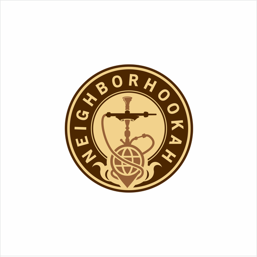Bold logo for neighborhookah