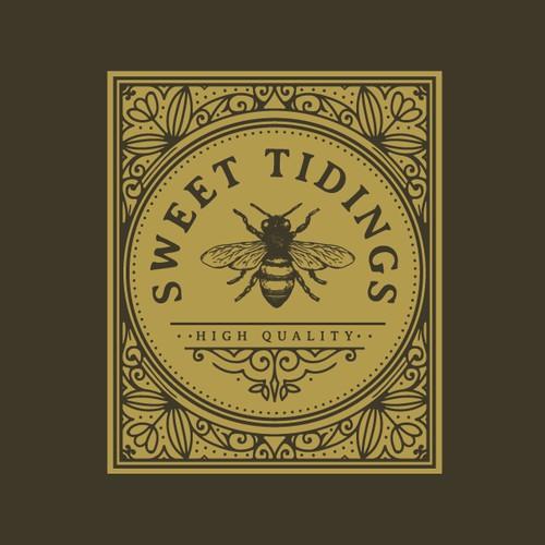 Sweety vintage logo concept🐝