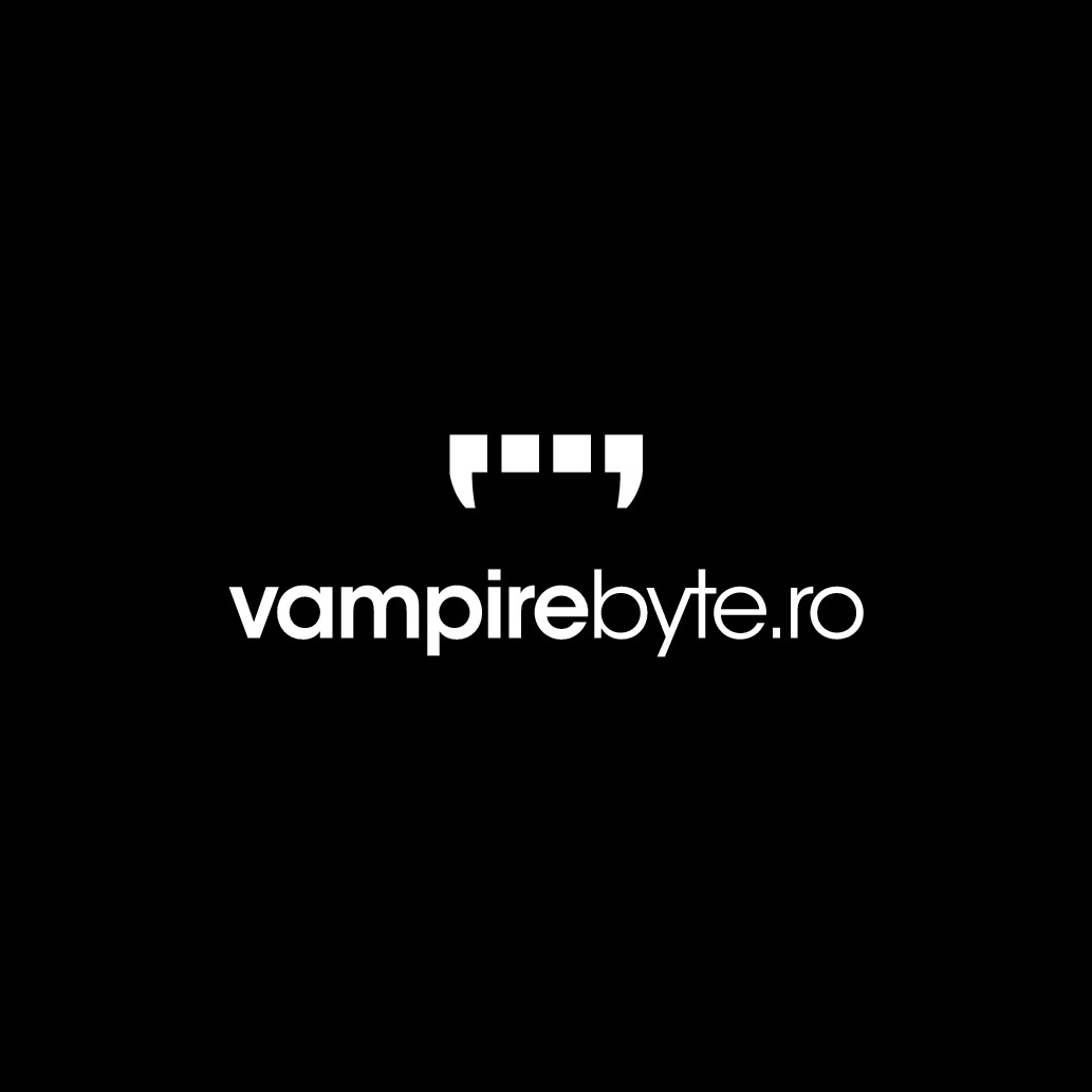 Vampire Byte logo for a new software company from Transylvania!
