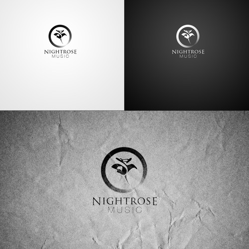 Brand Identity Pack: Epic design for new music production company NightRoseMusic