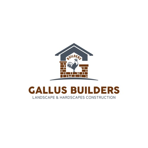 Literal Gallus and hardscape Logo