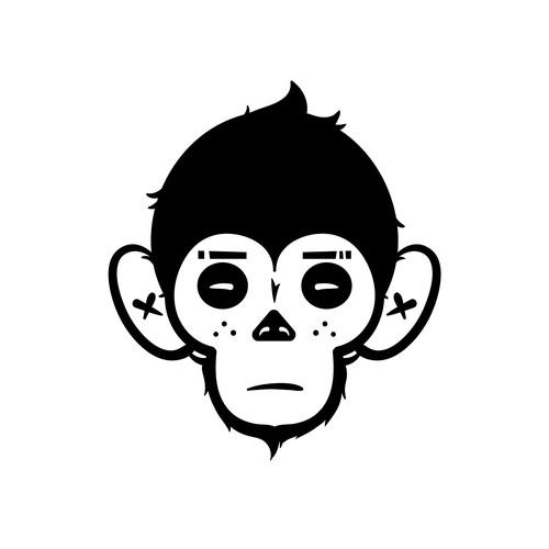 Monkey head logo