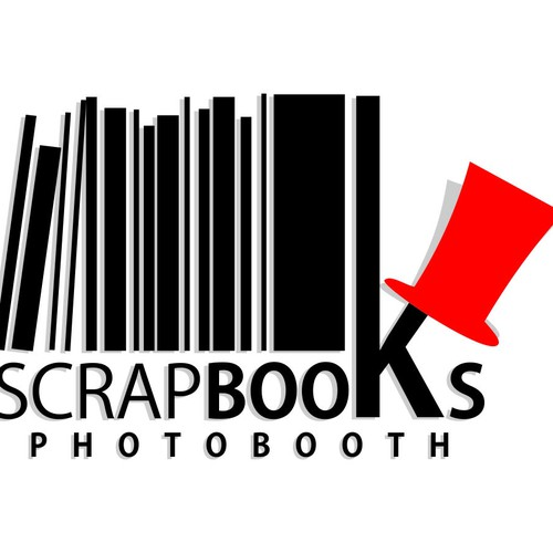 "Create a Logo for ""Scrapbooks"" Photo Booth"