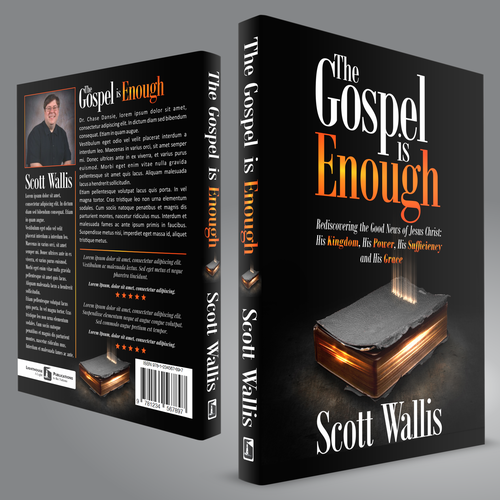 Book Cover Design: The Gospel is Enough