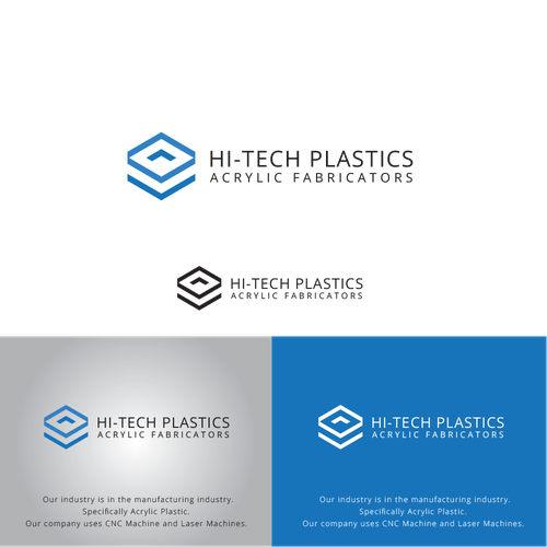 Logo for HI-TECH PLASTICS