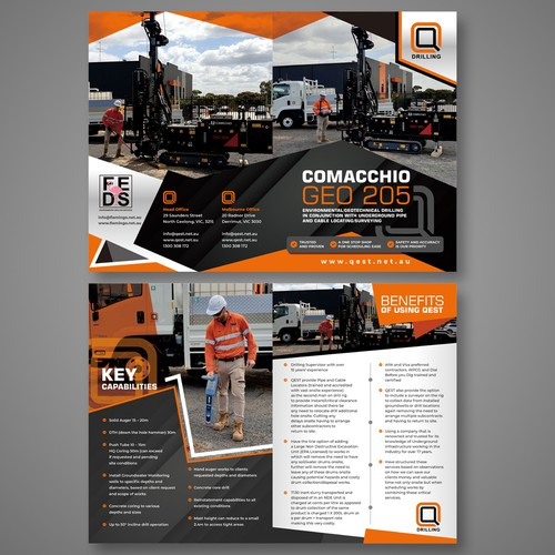 Corporate promotion brochure