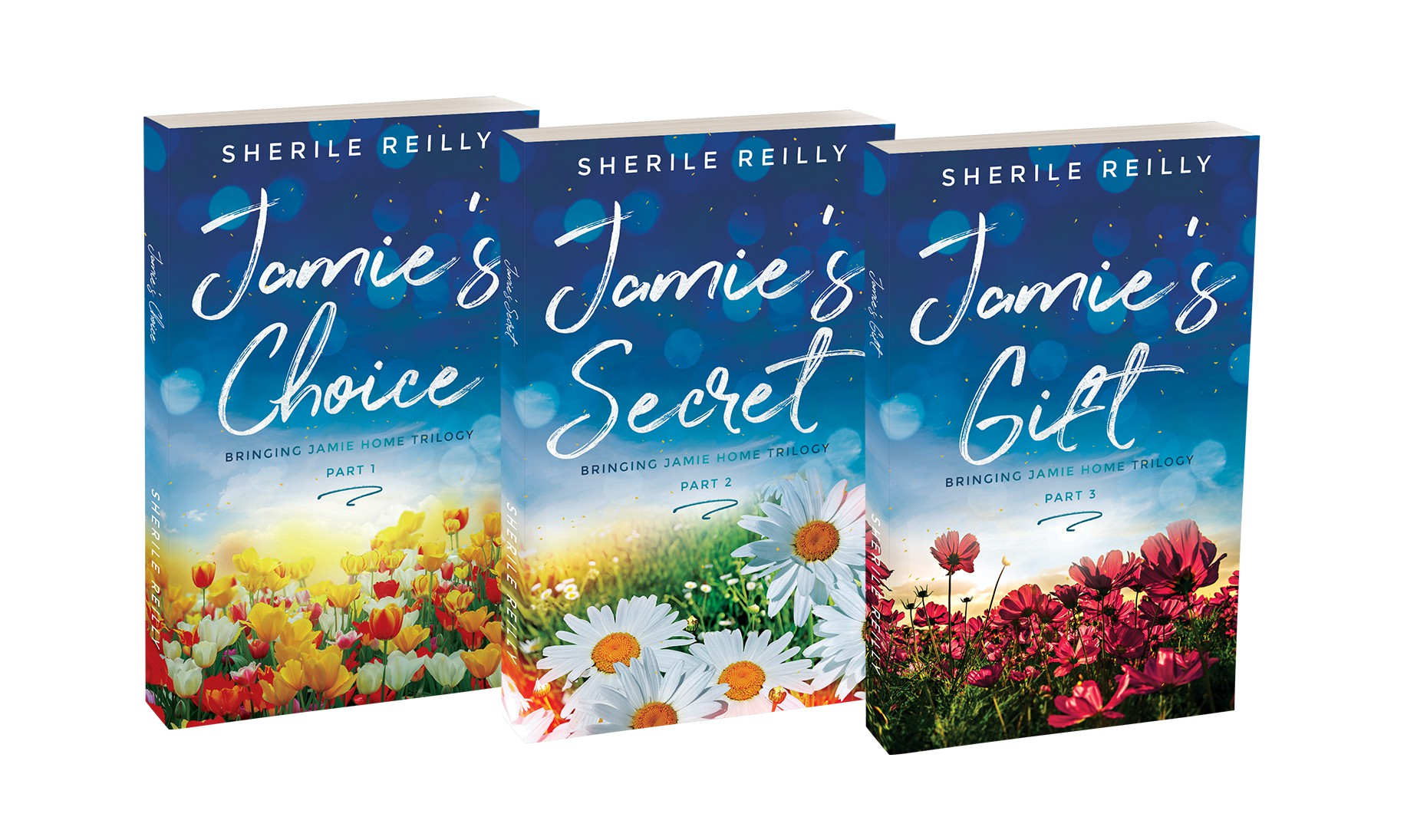 """""""Jamie's Secret"""" and """"Jamie's Gift"""" Book Covers"""