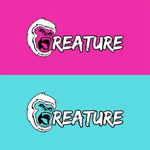 Neon Creature Logo