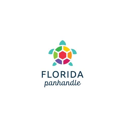 Logo for a hip new Florida travel website