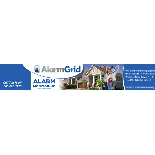 Alarm Grid's Youtube Channel Banner