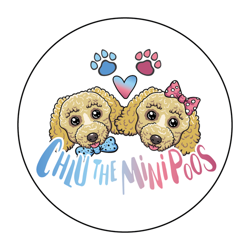 Logo for a Puppy Instagram profile