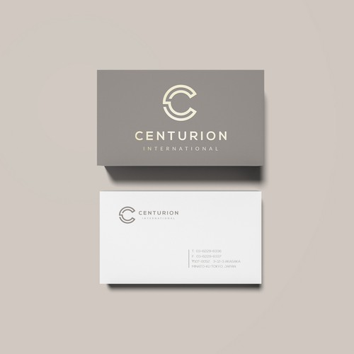 Centurion International - Logo & Business Card Design