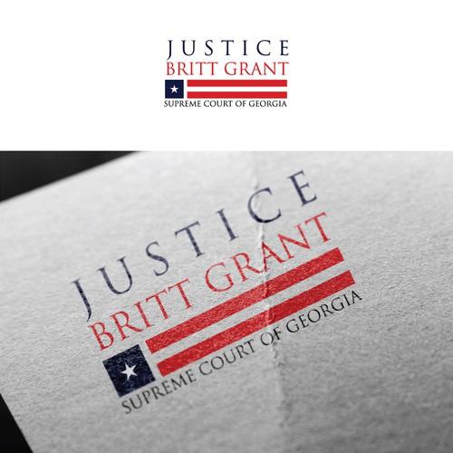 Logo for Justice Britt grant