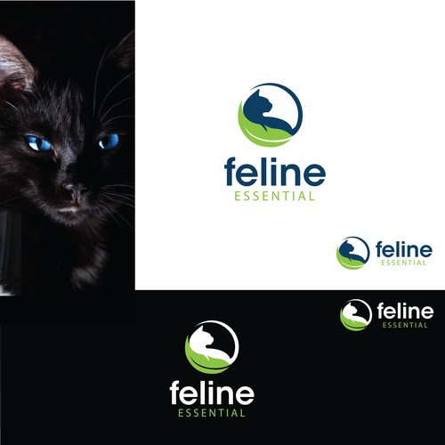 logo for feline essentials
