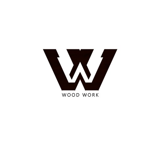 Logo concept for Wood Work