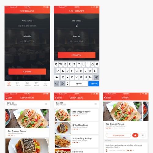 Eatopia App Redesign