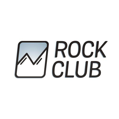 Indoor rock climbing logo