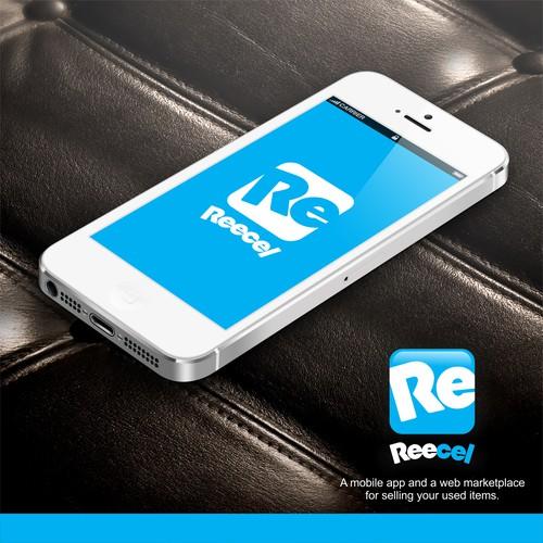 Bold logo concept for Reecel