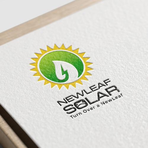 newleafsolar logo