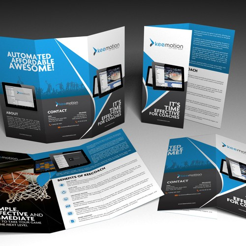 Create the next brochure design for Keemotion