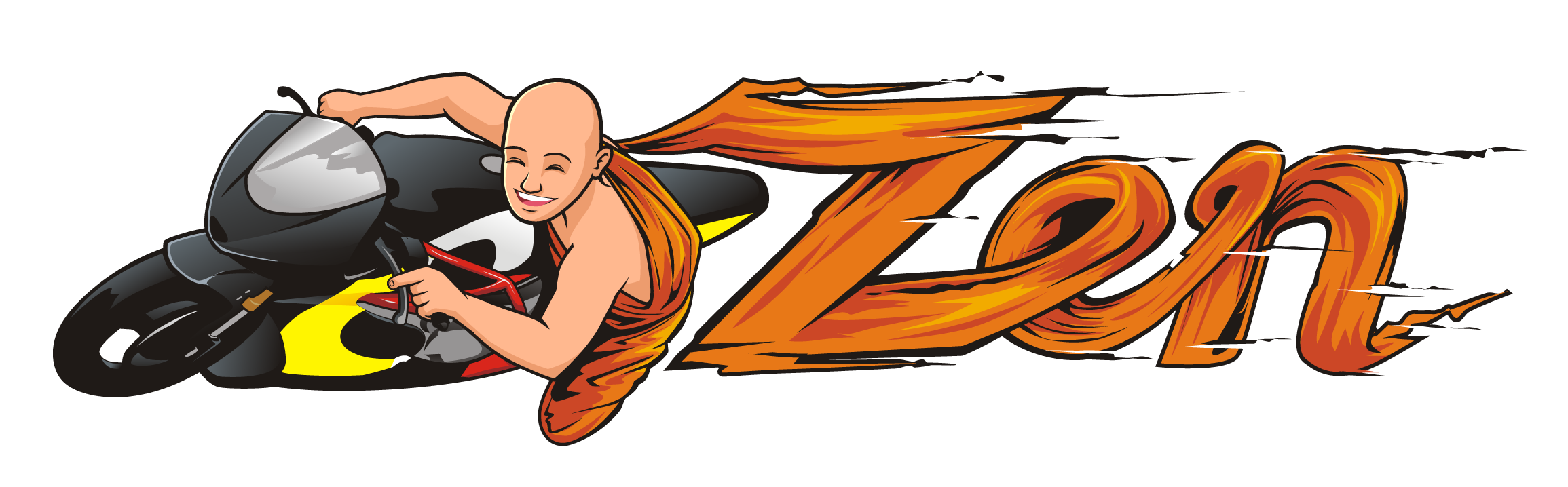 Zen Motorcycle Racing Logo