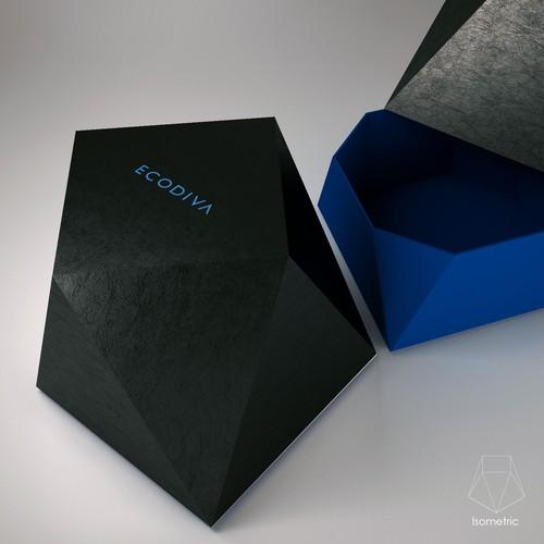 Create luxury gift box for Eco Diva