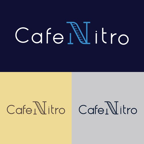 Logo for a Premium Coffee Drink