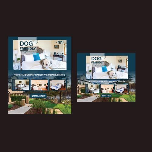 Dog Banner Design