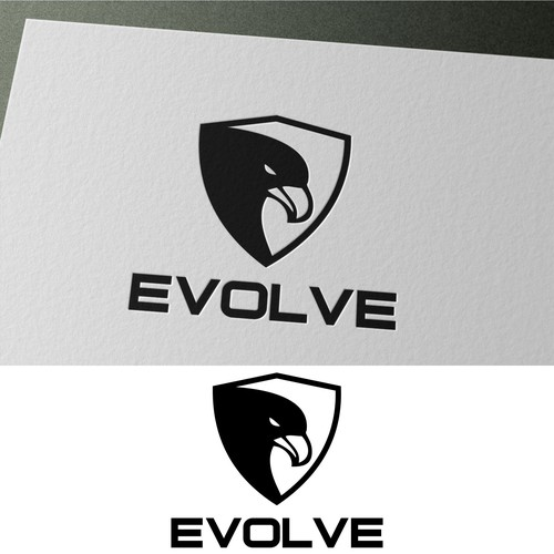 Create a luxurious logo for a new high-end fitness apparel company.
