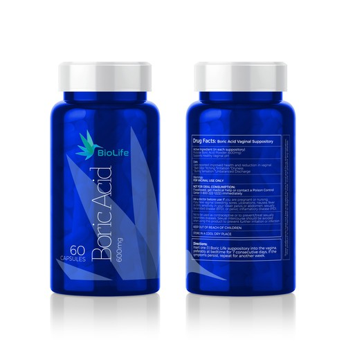 BioLife Boric Acid - Package Design