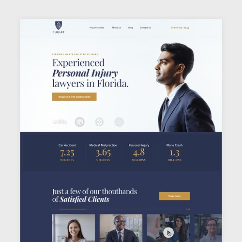 Homepage Law Firm