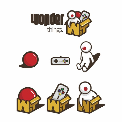 wonder things, toys onlineshop logo