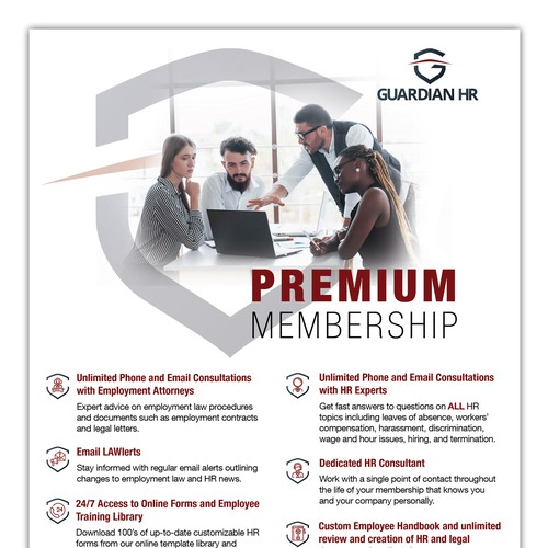 Guardian HR Flyer Design