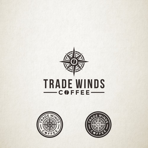Logo Design for Trade Winds Coffee