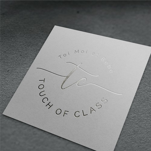 Classy logo for a fashion store