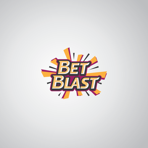 Logo for a sports website