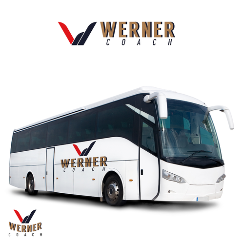 REBRANDING FOR WERNER COACH BUS SERVICES