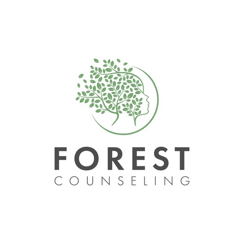 Modern logo for a Counseling brand