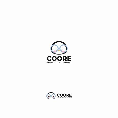 Coore, penguin logo